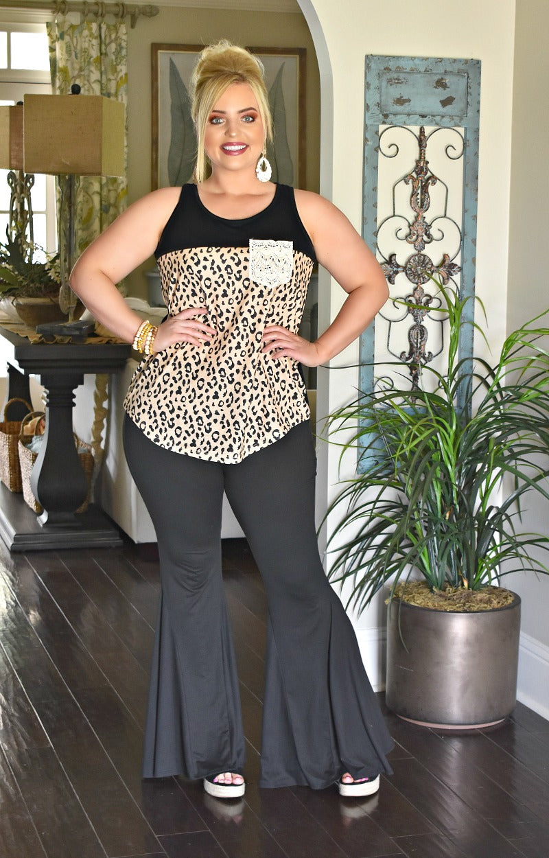Going Wild Leopard Print Top
