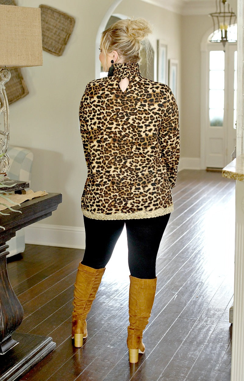 Load image into Gallery viewer, Nothing New Leopard Print Top