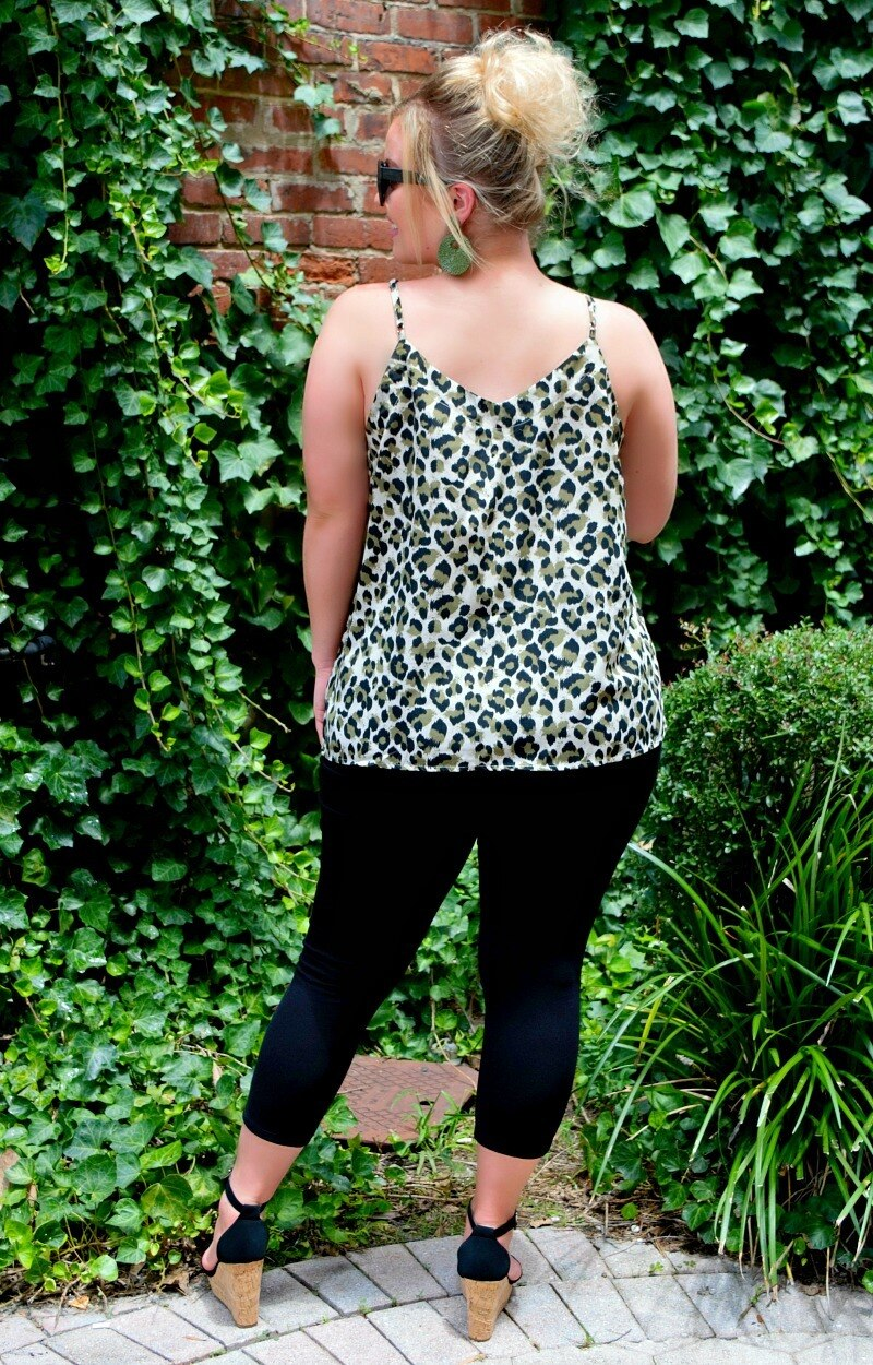 Load image into Gallery viewer, Wild Memory Leopard Print Tank - Olive