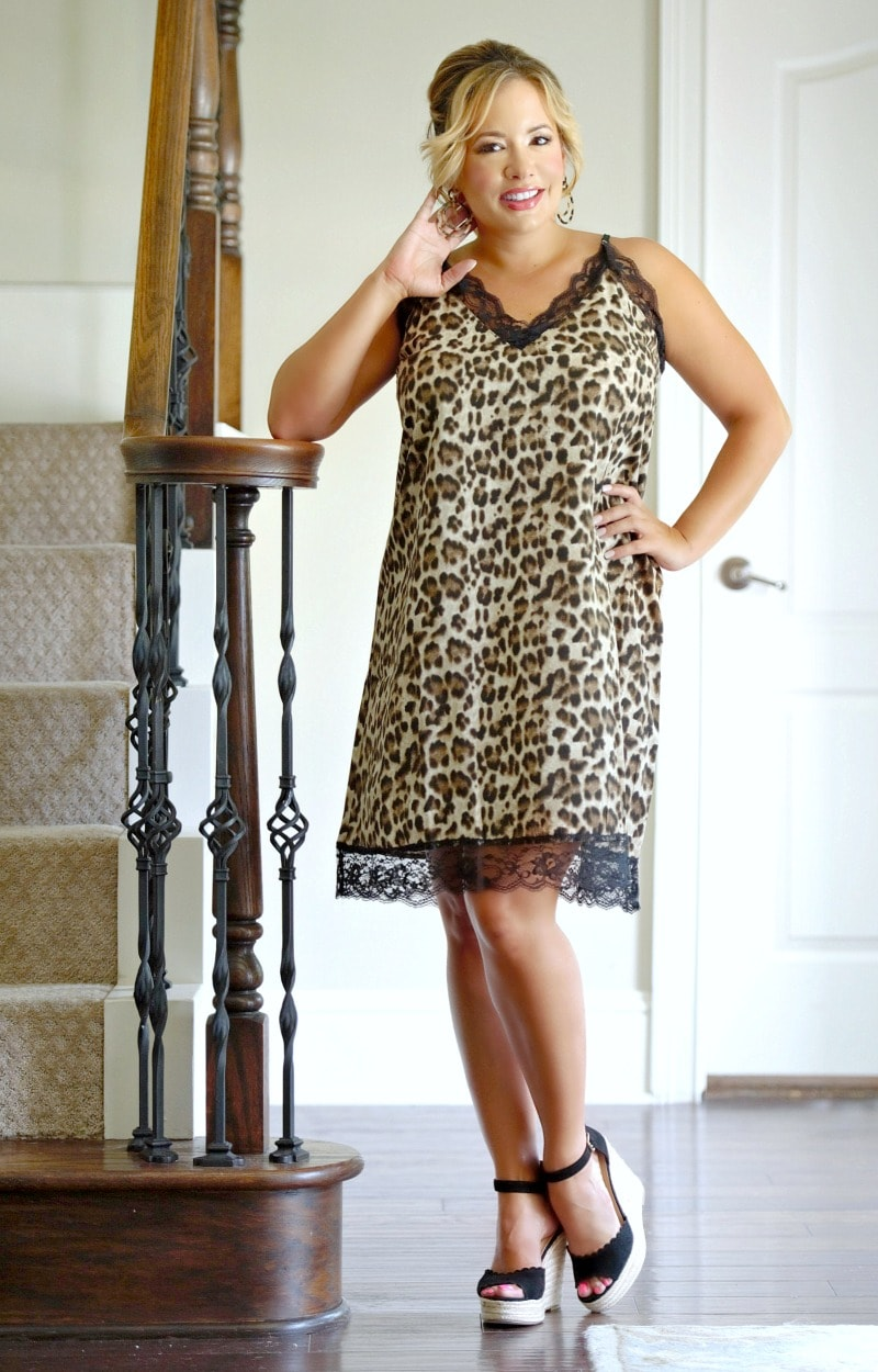 Load image into Gallery viewer, Follow Your Instincts Leopard Print Dress