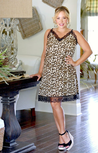 Follow Your Instincts Leopard Print Dress
