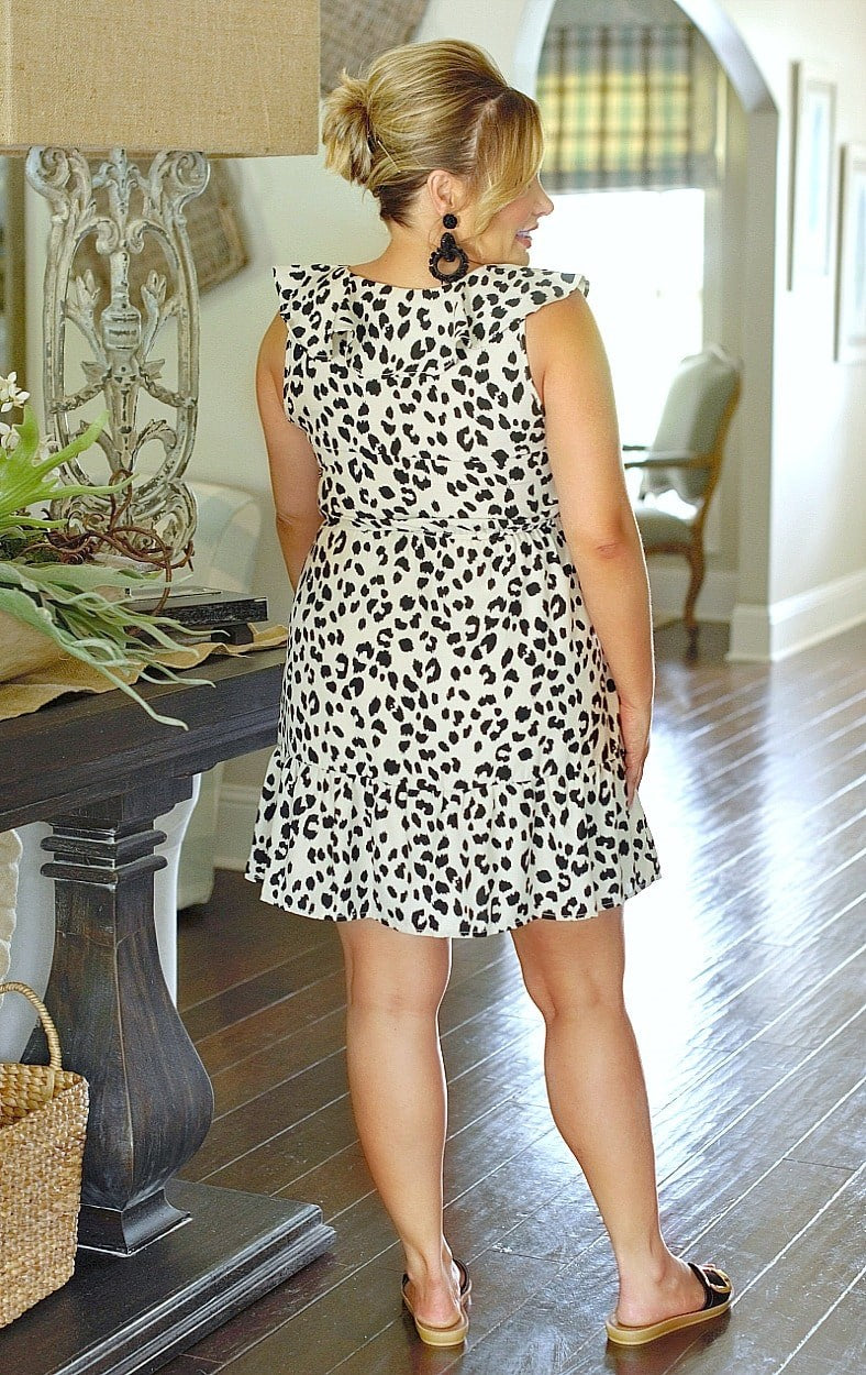Load image into Gallery viewer, Great Idea Leopard Print Dress