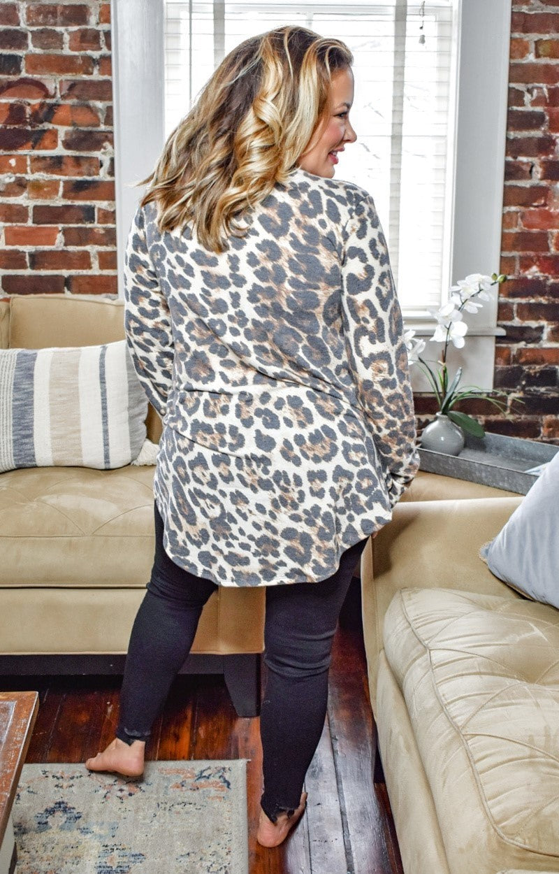 Load image into Gallery viewer, Starts With You Leopard Print Top