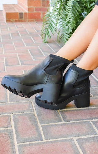 Make An Escape Booties - Black