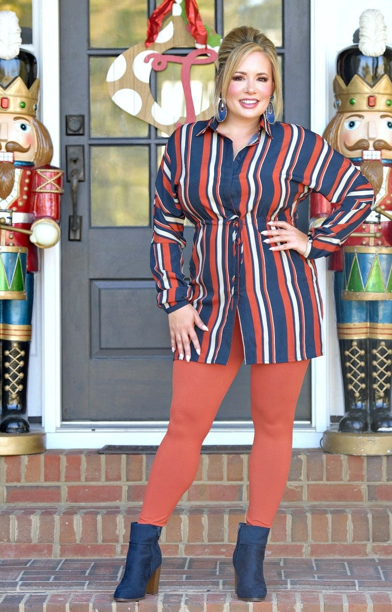 Load image into Gallery viewer, Come With Me Striped Dress/Tunic - Multi