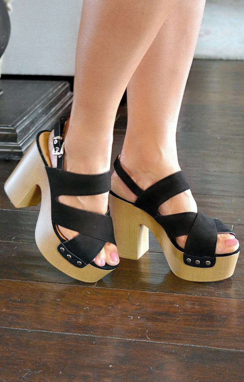 Confidence Booster Heels - Black