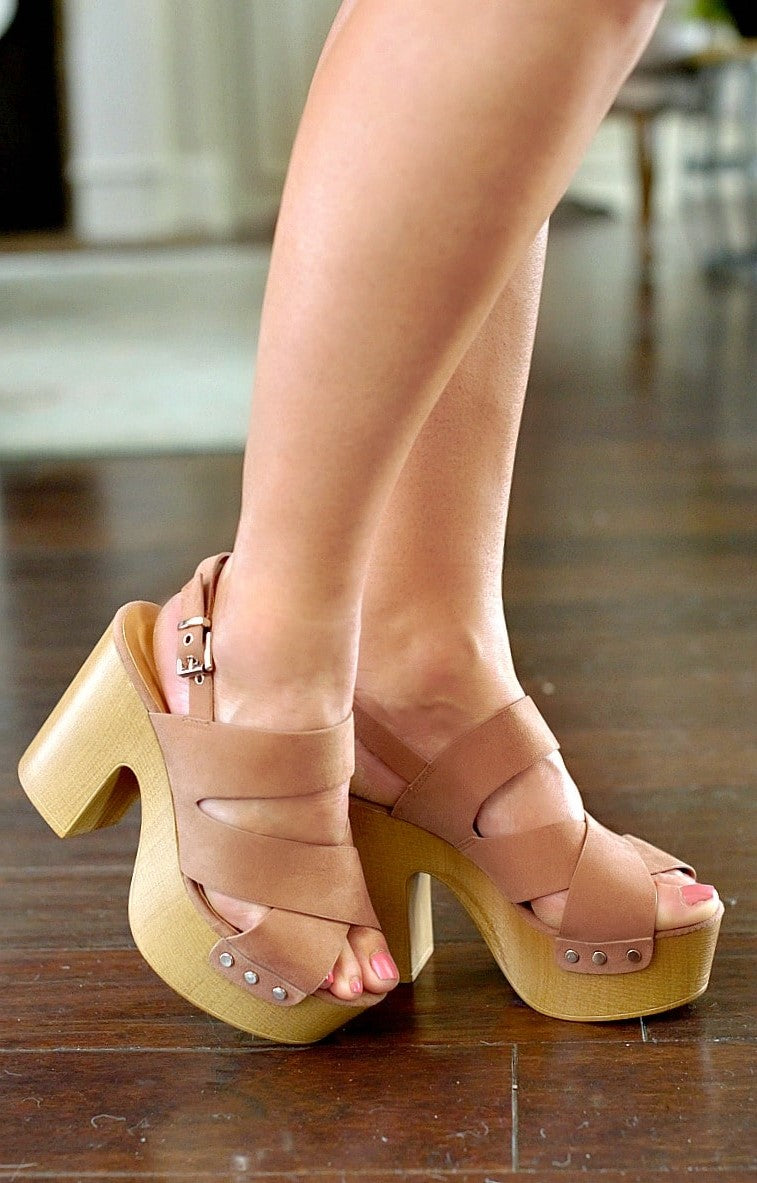 Confidence Booster Heels - Dark Blush