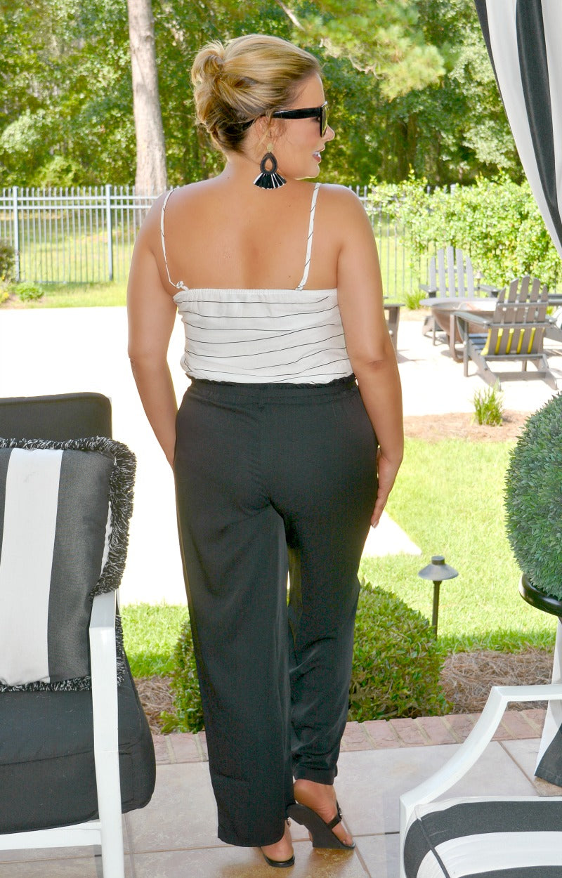 Load image into Gallery viewer, From The Runway Jumpsuit - White/Black