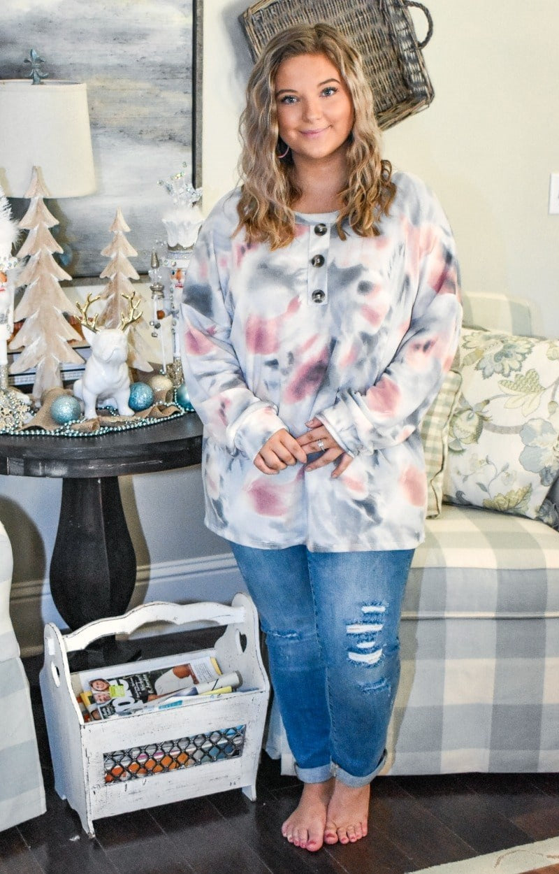 Arms Around You Oversized Tie Dye Pullover