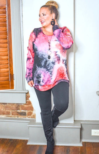 Something To See Tie Dye Pullover