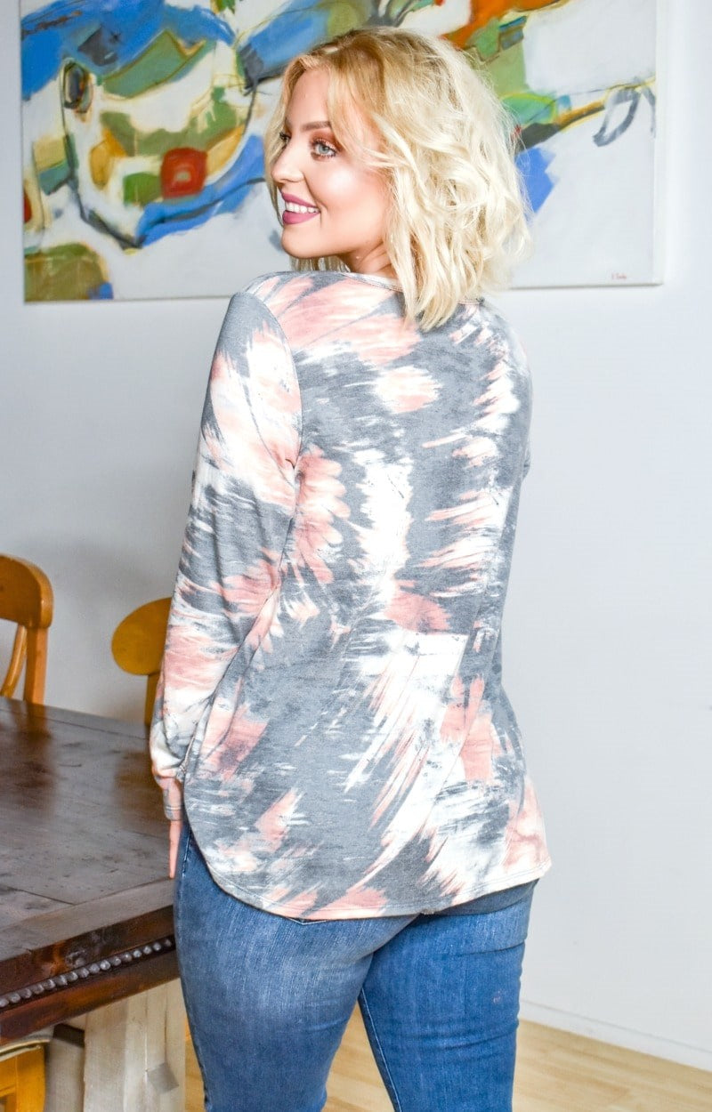 Load image into Gallery viewer, Speak To Your Heart Tie Dye Top