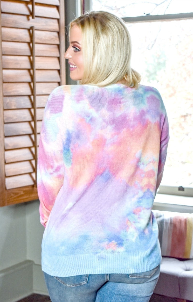 New Edition Tie Dye Sweater