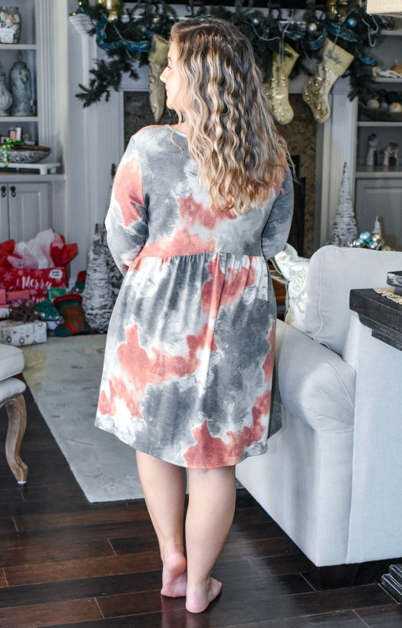 Load image into Gallery viewer, On Her Way Tie Dye Dress