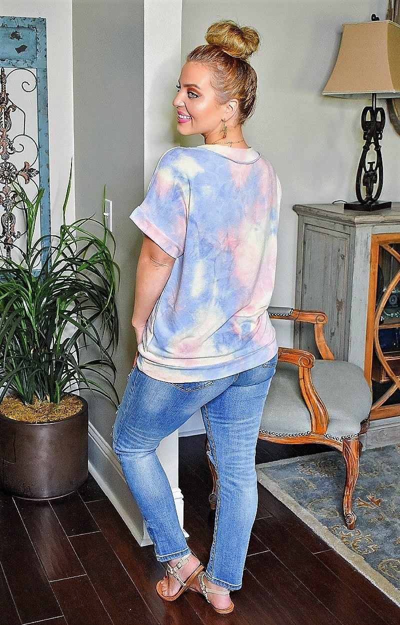 It Speaks To Me Tie Dye Top