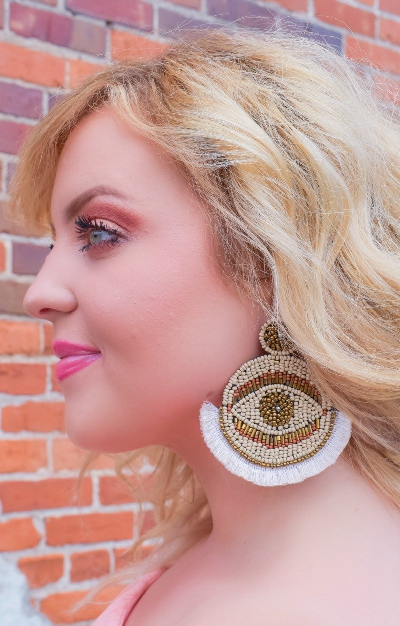 Load image into Gallery viewer, Eyes On Me Earrings