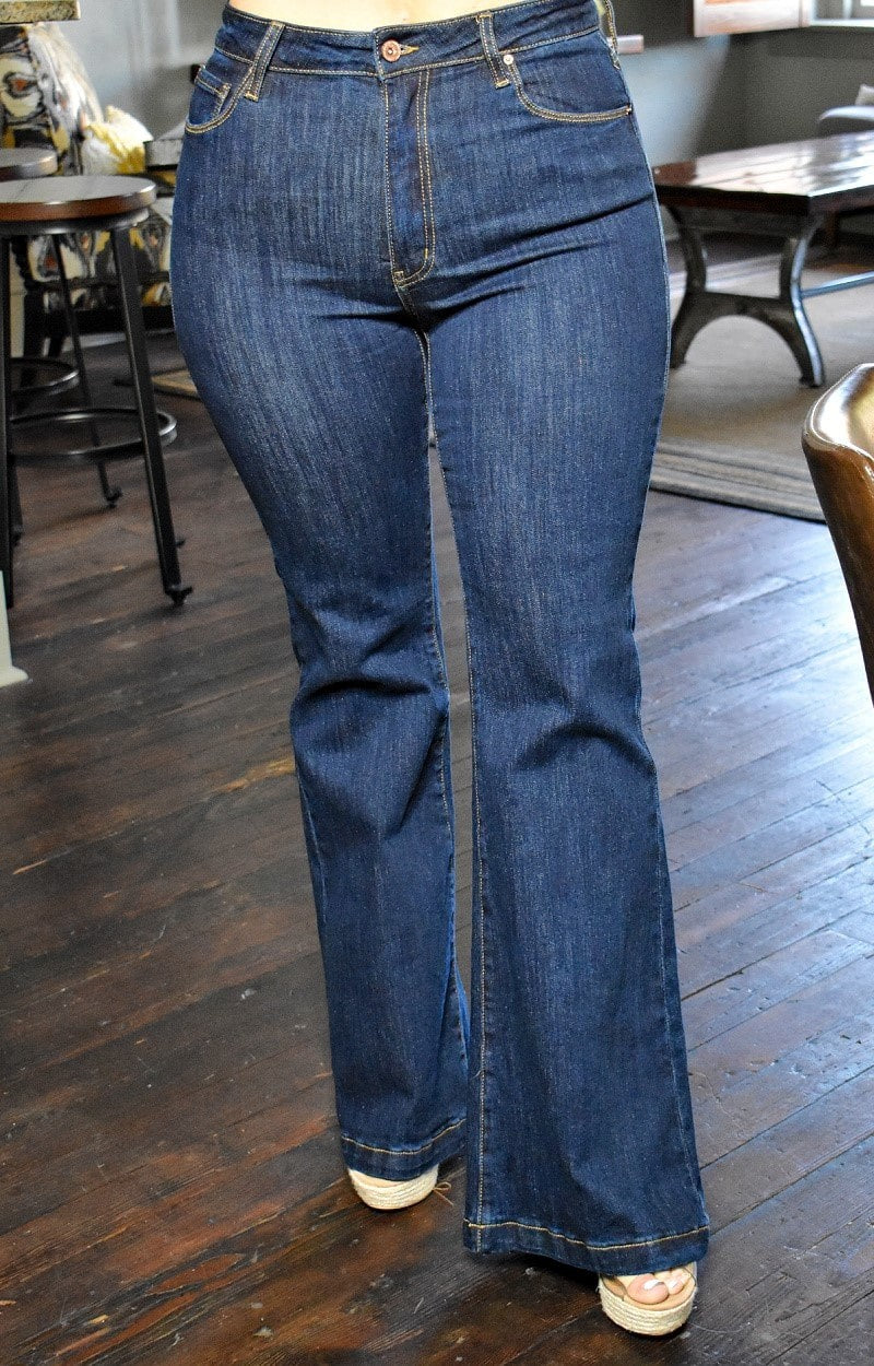No Excuses Flare Jeans