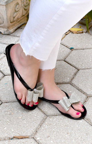 One Way Ticket Sandals - Black