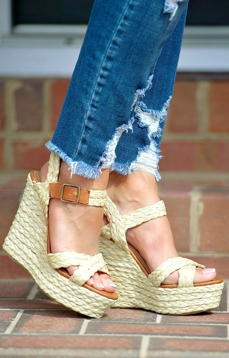 Major Flair Rattan Wedges