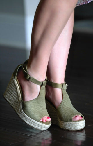 Running Back Wedges - Olive