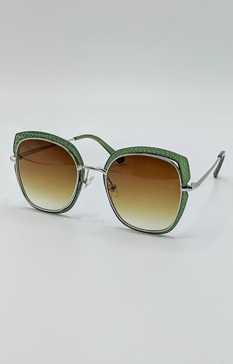 Load image into Gallery viewer, I'm The Star Sunglasses - Green