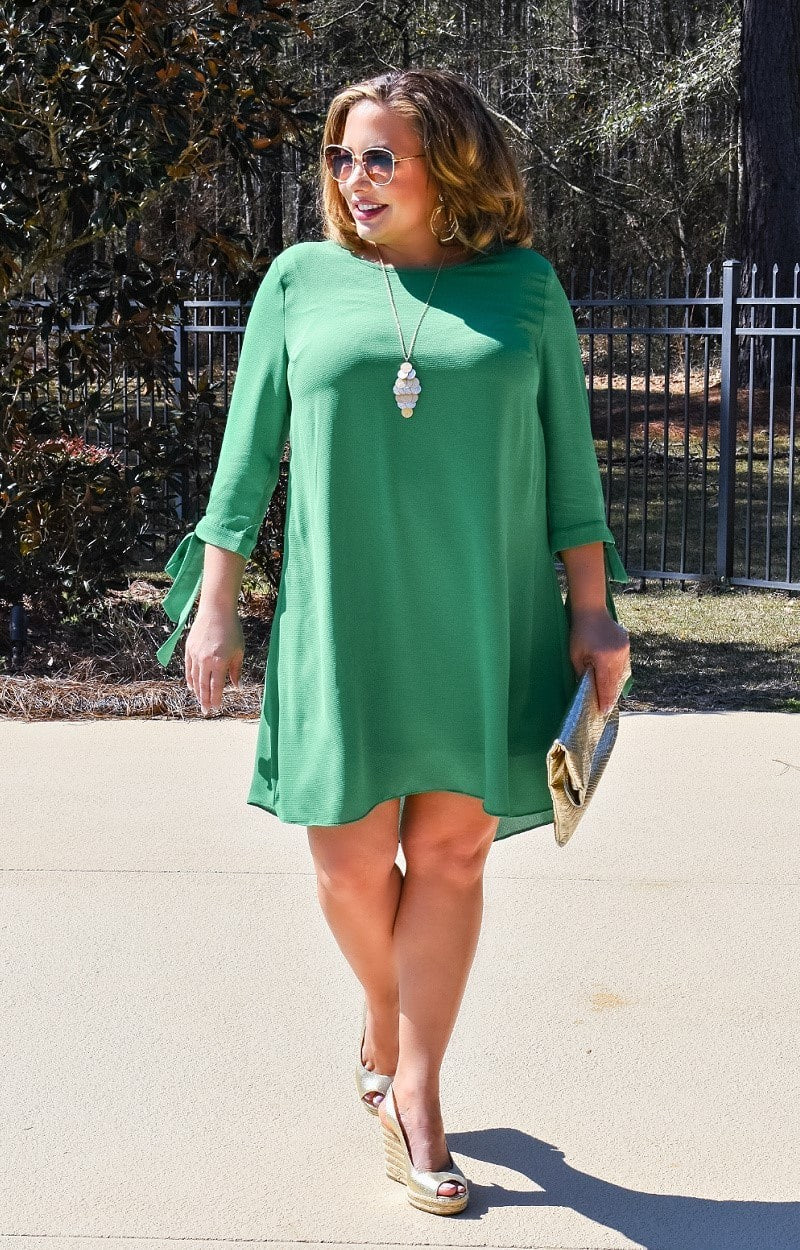 Run The World Dress - Emerald
