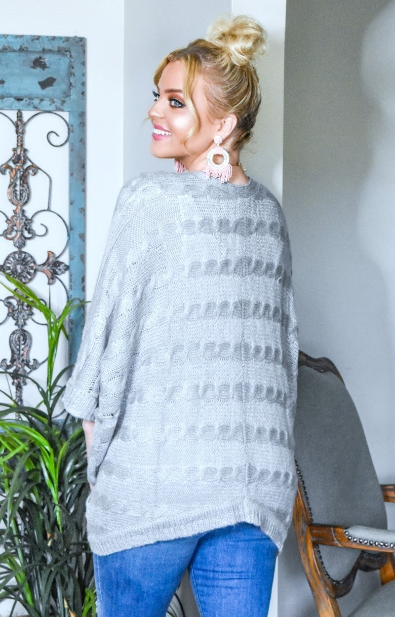 Load image into Gallery viewer, Clearly Perfect Cardigan - Heather Gray