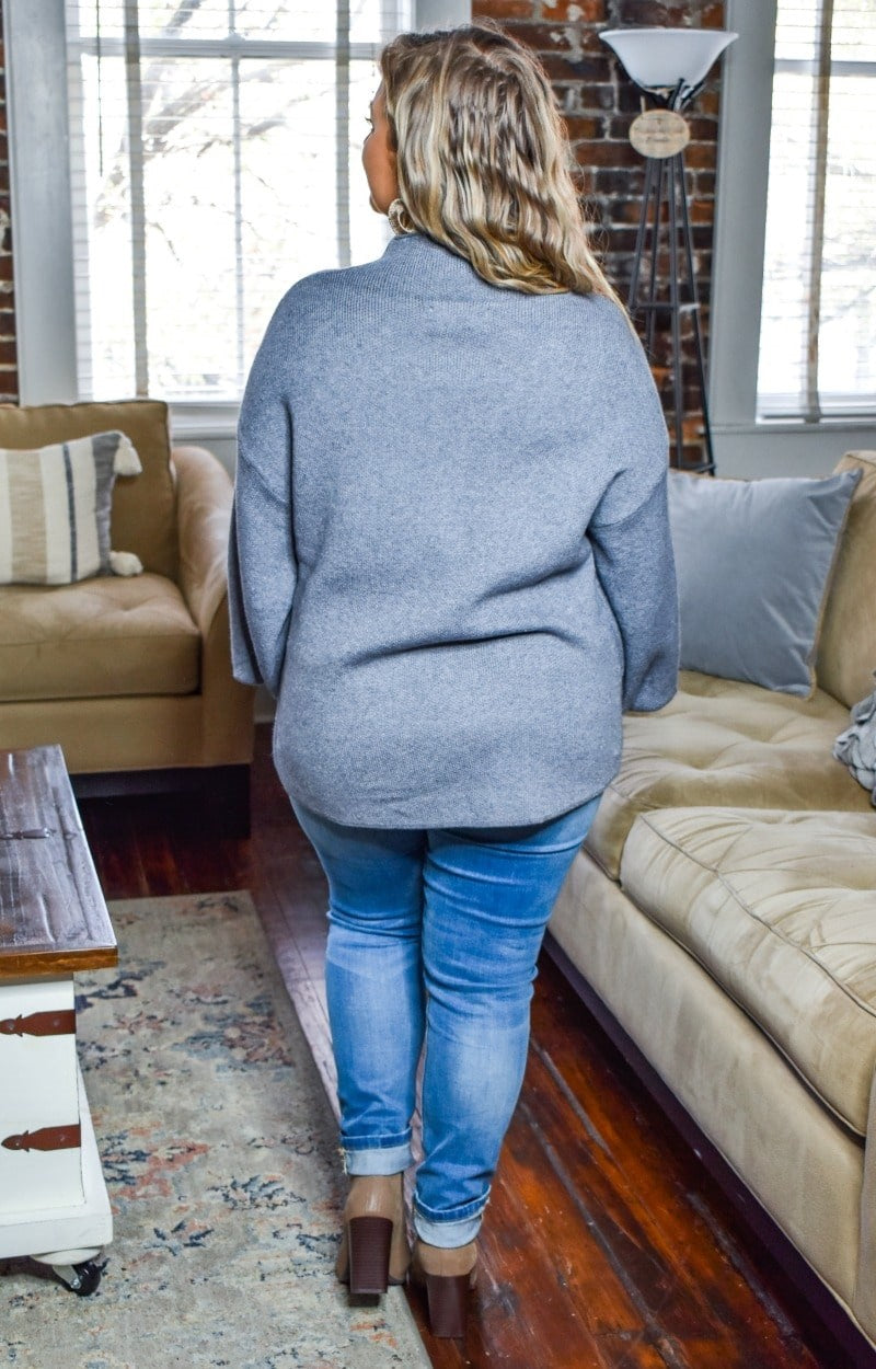 Load image into Gallery viewer, All That You Do Sweater - Gray