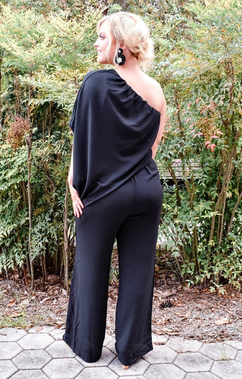 Load image into Gallery viewer, Cool Under Pressure Jumpsuit - Black