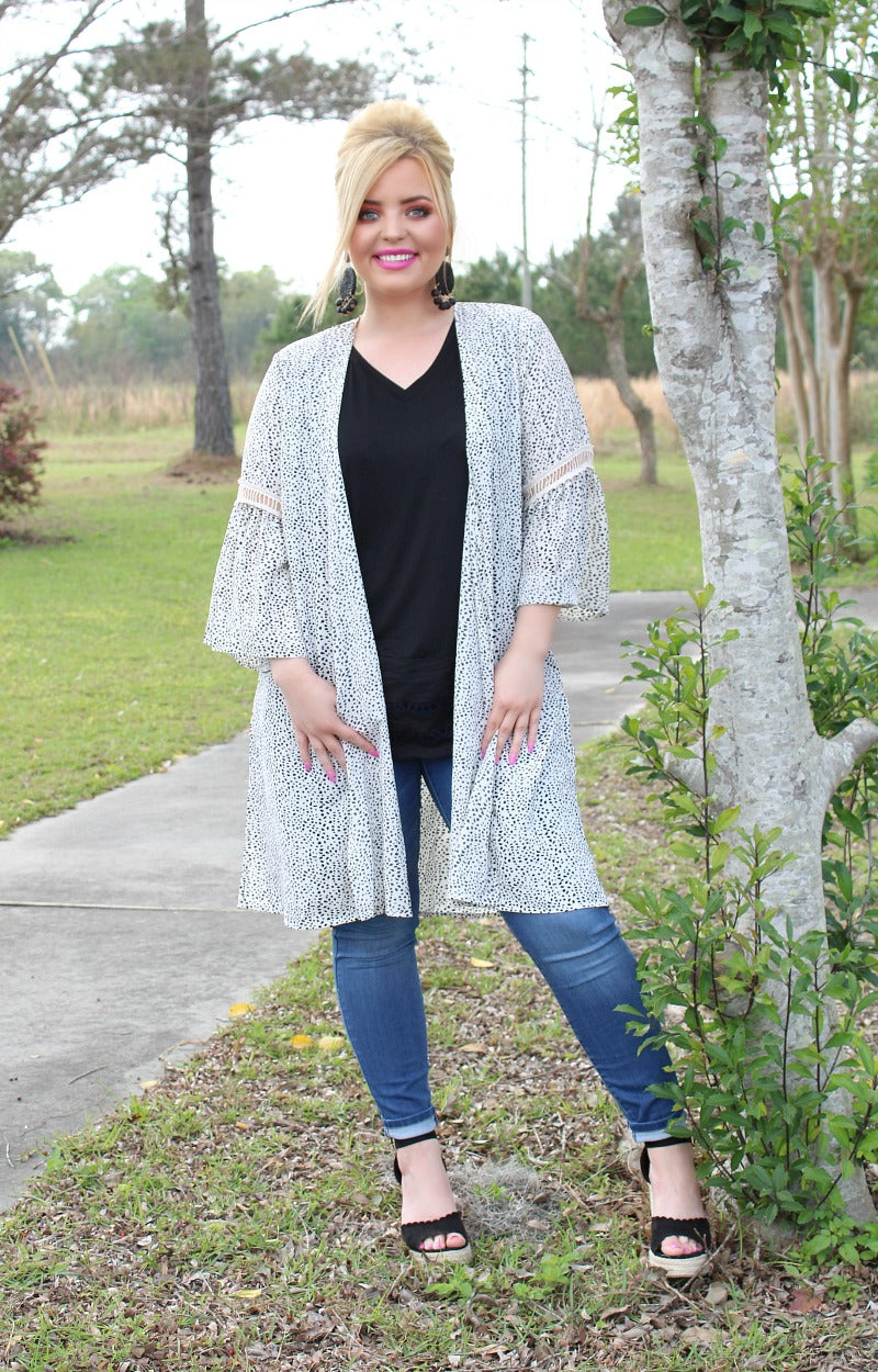 Out For The Day Print Kimono