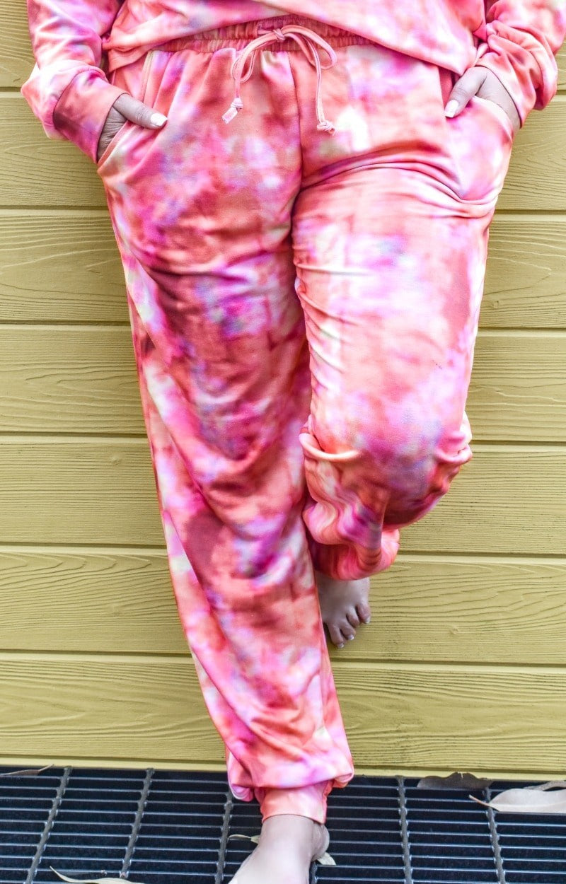 Load image into Gallery viewer, Flamin' Hot Tie Dye Joggers
