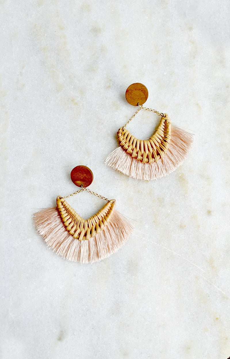 Load image into Gallery viewer, Smooth Operator Earrings - Blush