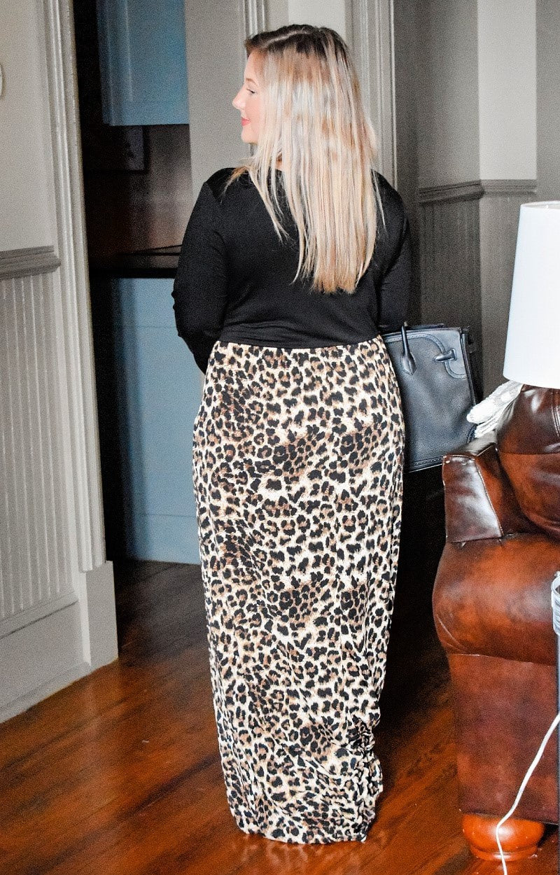 Load image into Gallery viewer, More To Give Leopard Print Maxi Dress