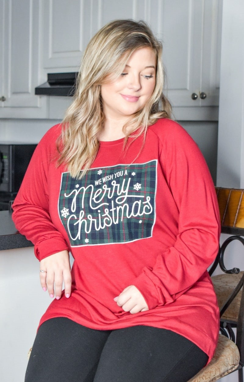Load image into Gallery viewer, We Wish You A Merry Christmas Pullover