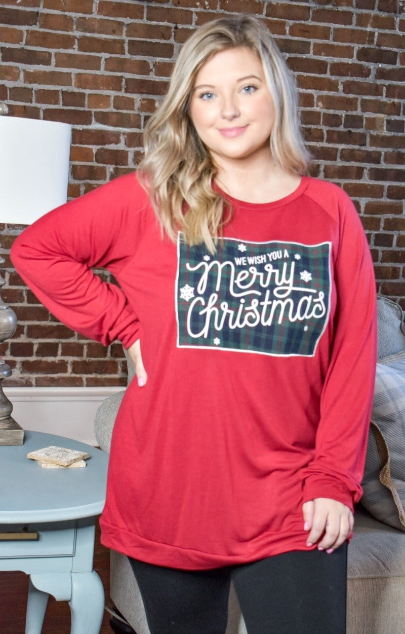 We Wish You A Merry Christmas Pullover