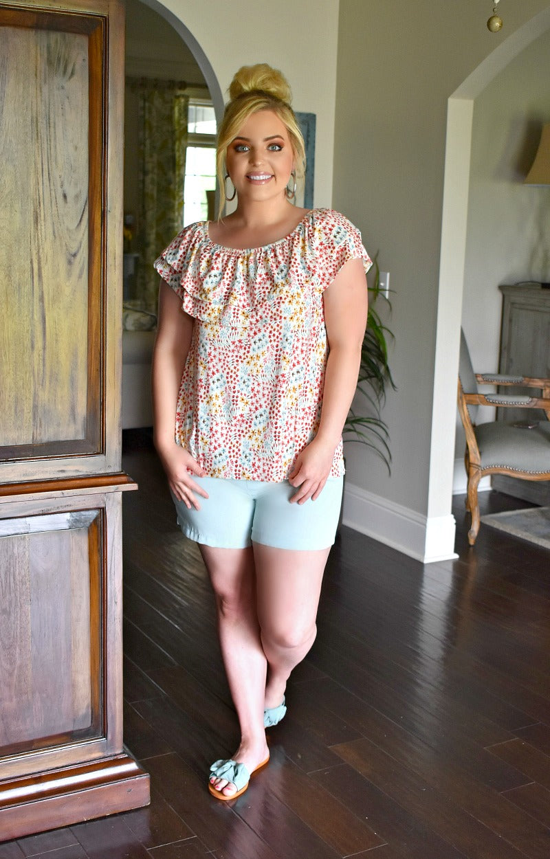 Load image into Gallery viewer, In Her Element Shorts - Powder Blue