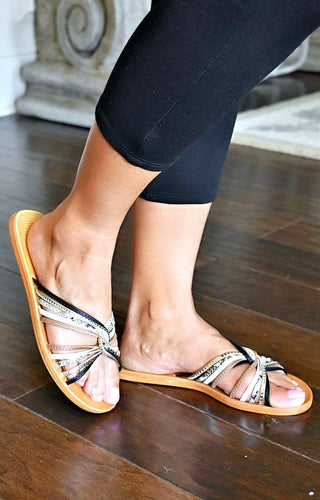 Twist Of Fate Sandals