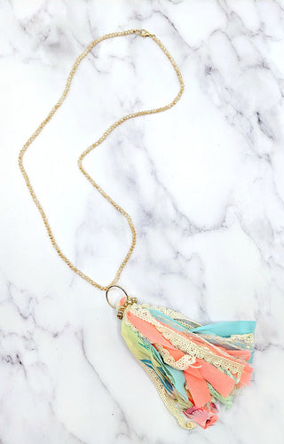 Beauty Of Spring Necklace - Multi