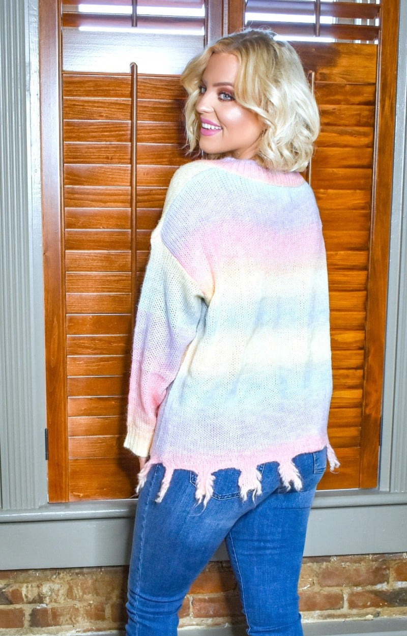 Let's Go For Sherbet Sweater