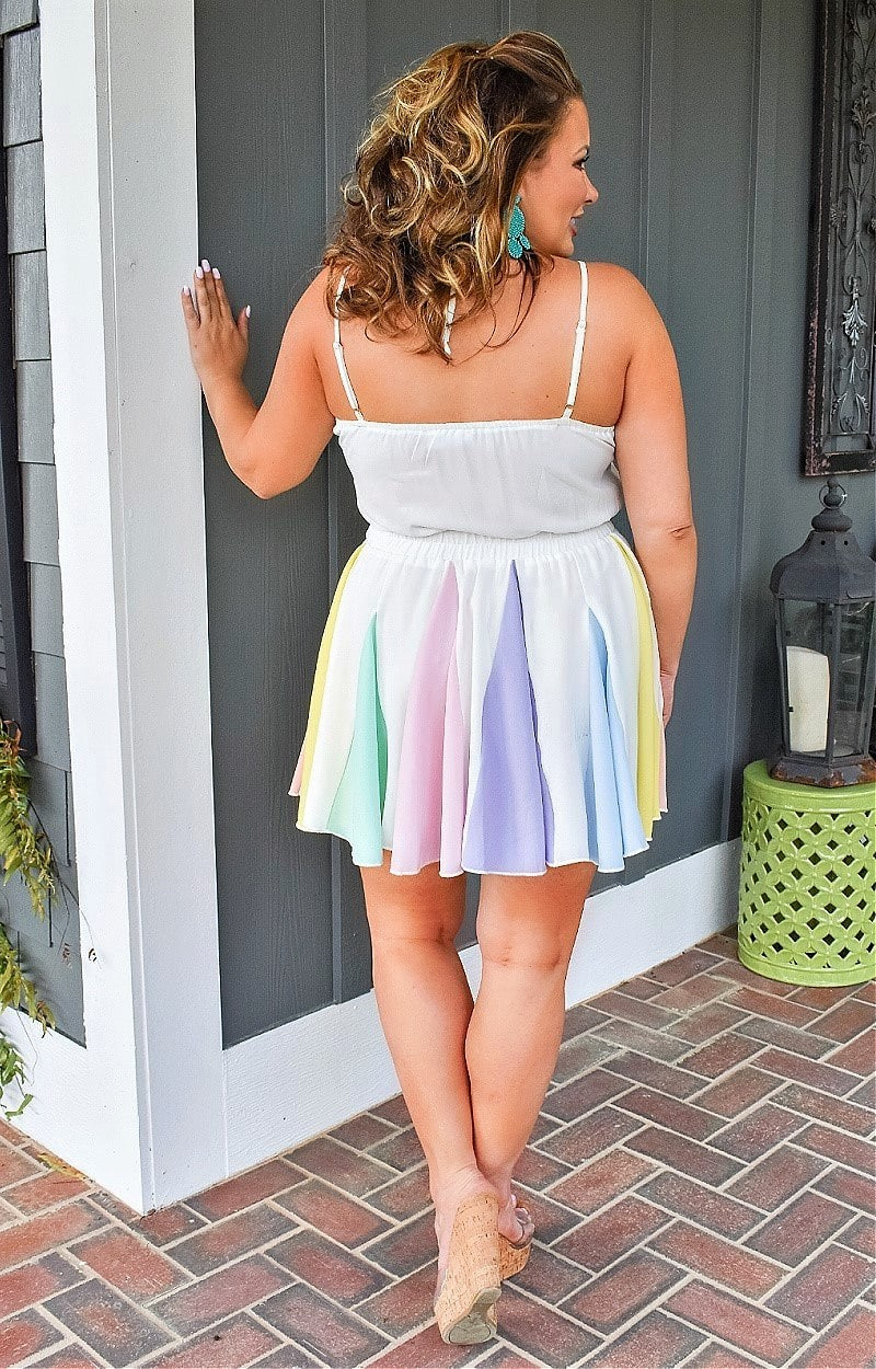 Mindful Of Me Romper - White/Multi