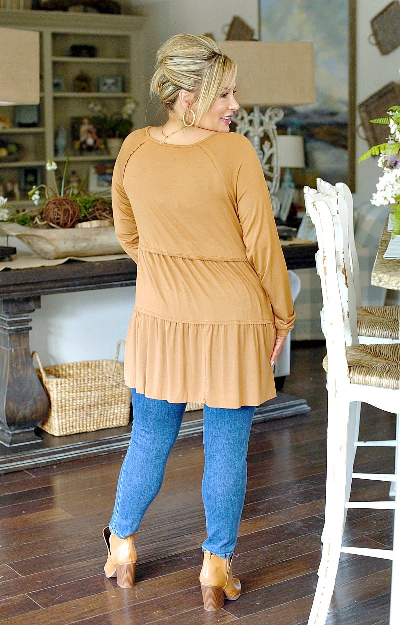 Fit For You Top - Cognac