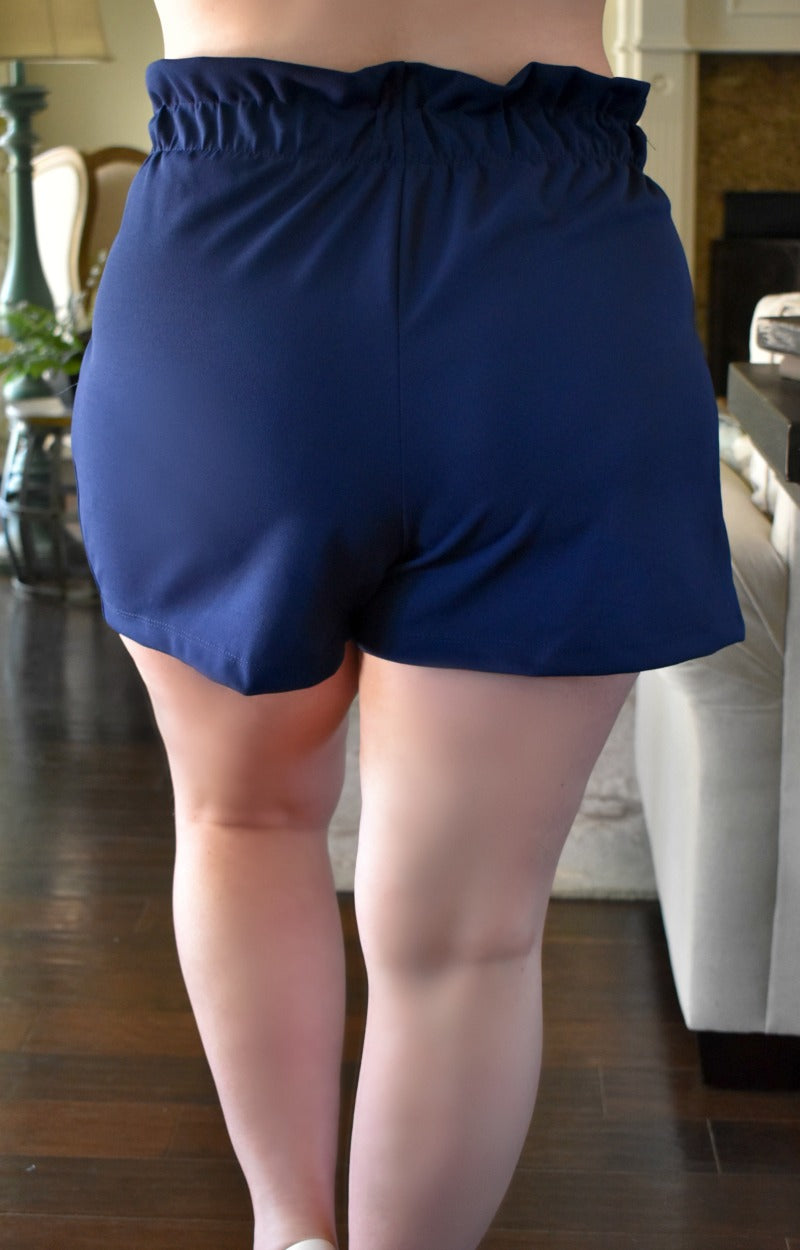 Keep In Touch Shorts - Navy