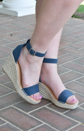 Just Enough Wedges - Navy