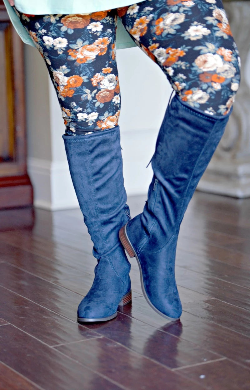 What It Takes Boots - Navy