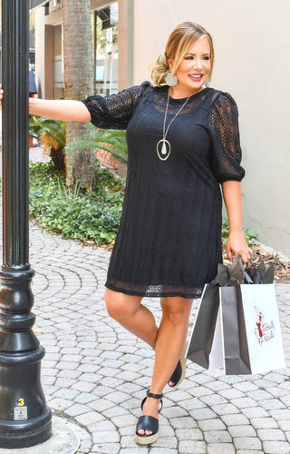 Weekends Away Dress - Black
