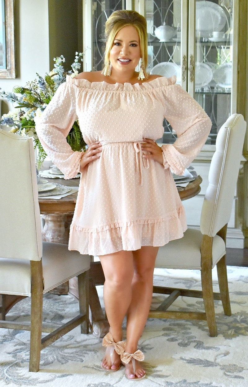 Totally Worth It Dress - Pink
