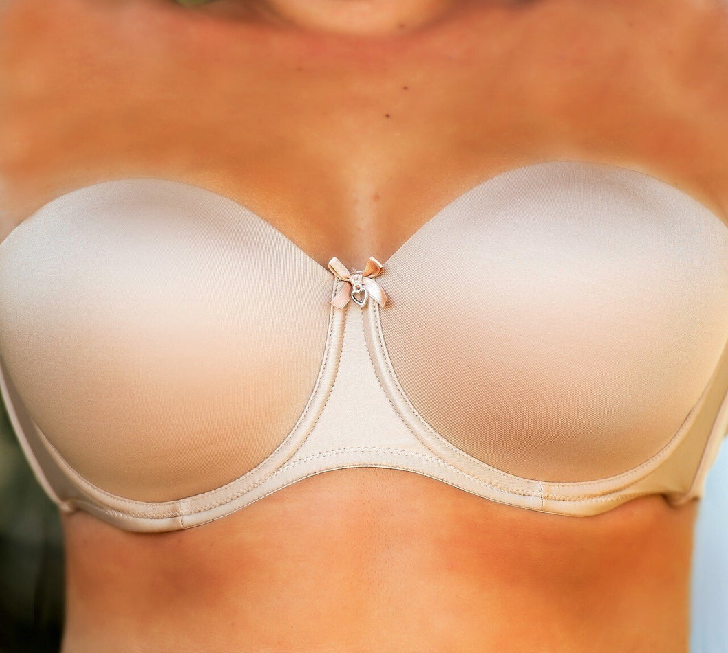 Pure Perfection Strapless Bra - Nude