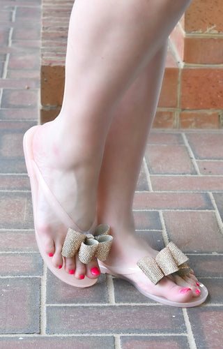 One Way Ticket Sandals - Blush