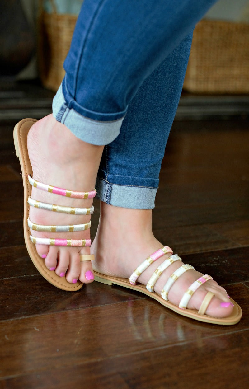 On The Contrary Sandals - Multi