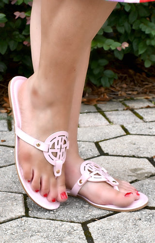 Make A Way Sandals - Baby Pink