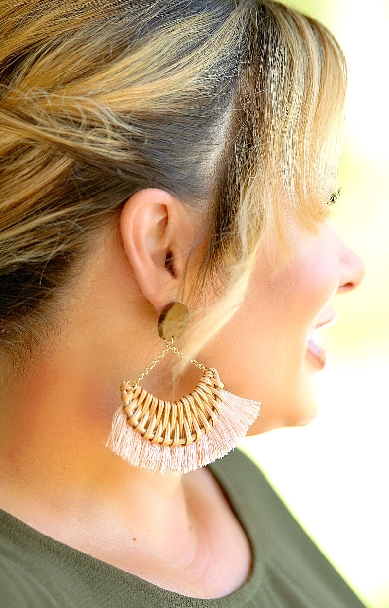 Smooth Operator Earrings - Blush